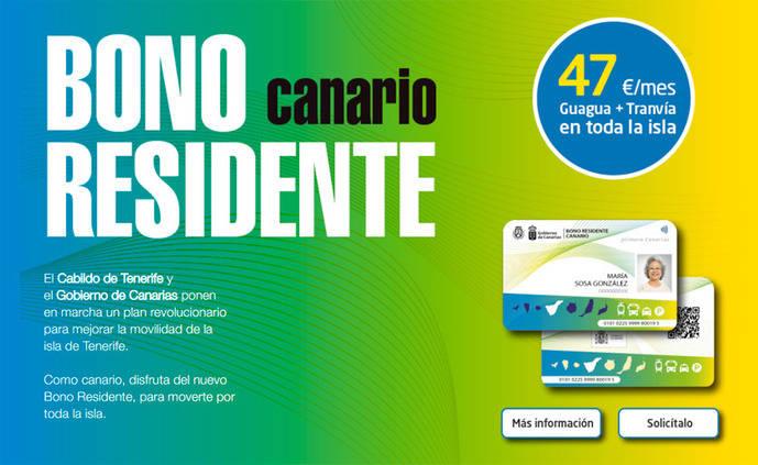 Tenerife pone en marcha el Bono Residente Canario