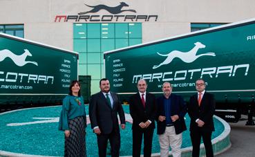 Marcotran inaugura su nueva ampliación de naves