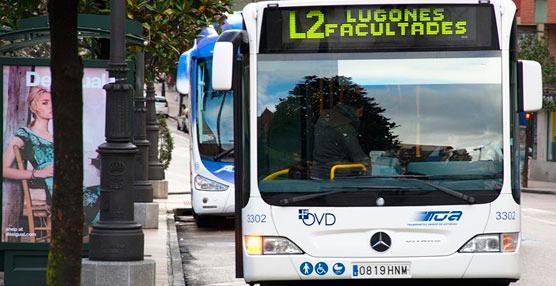 Aumentan en un 1,5% los viajeros en autobuses urbanos de Oviedo