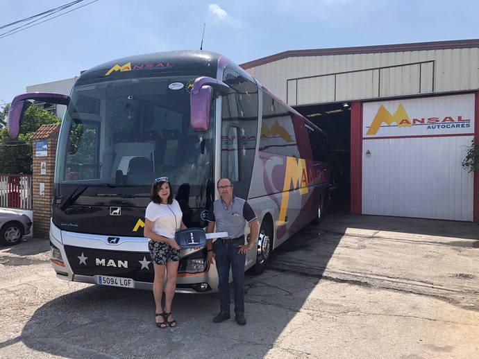 MAN entrega un Lion's Coach Advance a Autocares Mansal