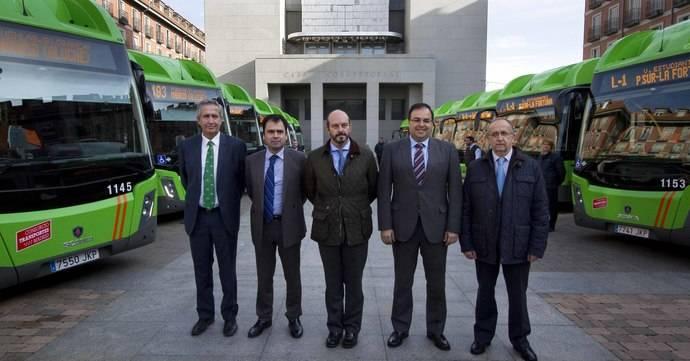 Leganés tendrá una nueva flota formada por 15 autobuses ecológicos