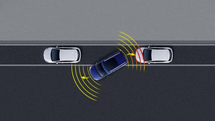 Uno de los elementos recién incorporado a la oferta de sistemas de asistencia de Opel es el  asistente lateral, que ayuda a los conductores al realizar giros cerrados a baja velocidad.