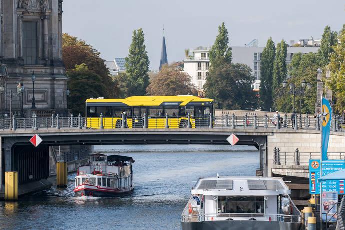 90 Solaris Urbino eléctricos llegan a las calles de Berlín
