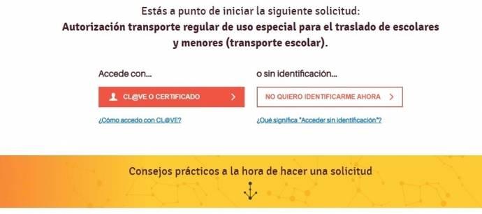 Aragón agiliza los trámites para las empresas del escolar