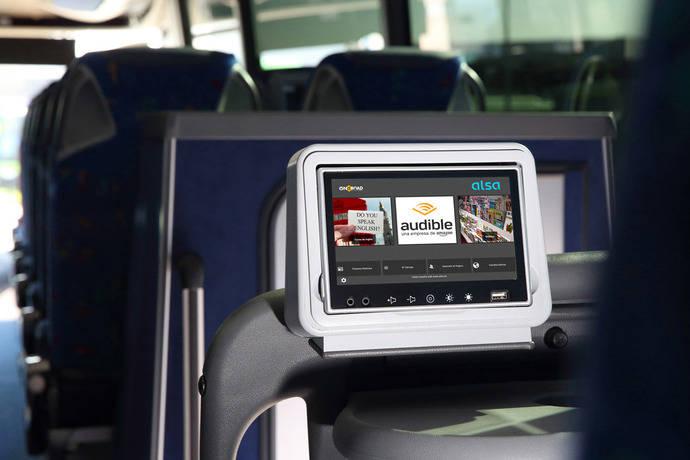 Alsa mejora el entretenimiento a bordo de la mano de Audible