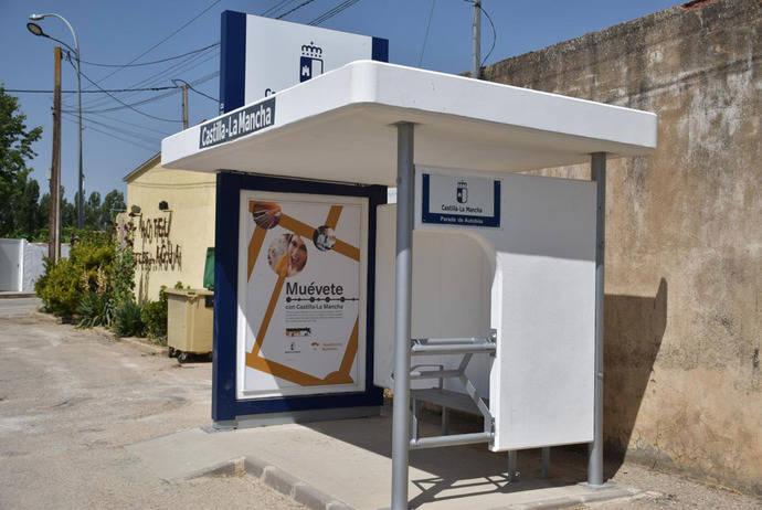 Castilla-La Mancha afronta la renovación de sus marquesinas