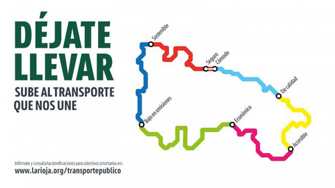 La Rioja fomenta el uso del transporte seguro