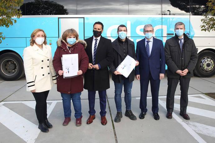 Alsa fomenta la autonomía personal para viajar en bus