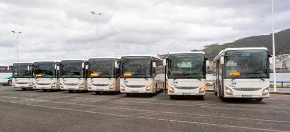 Autocares Vivero-Otero amplía su flota con siete Iveco Crossway Line