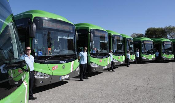 Se alcanza un preacuerdo en la negociación del convenio colectivo de transporte de Madrid