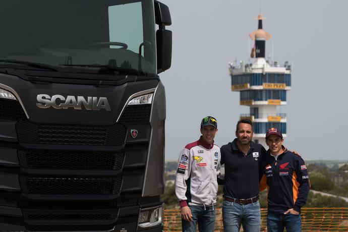 La nueva generación de Scania, al servicio de los hermanos Márquez