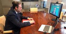 Ábalos y Garamendi se reúnen con UNO para subrayar la relevancia del Sector