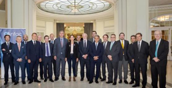 La ministra de Industria, Reyes Maroto, se reúne con la Junta Directiva de Anfac