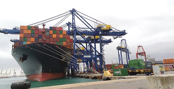 El tráfico de Valenciaport crece un 5,53% durante el mes de febrero
