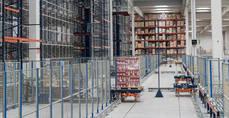 La contratación logística en España alcanza los 555.000 metros cuadrados
