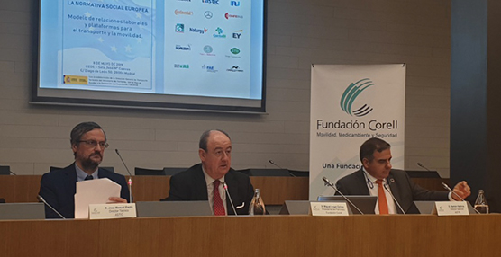 La Fundación Corell aborda el modelo de relaciones laborales para el Transporte