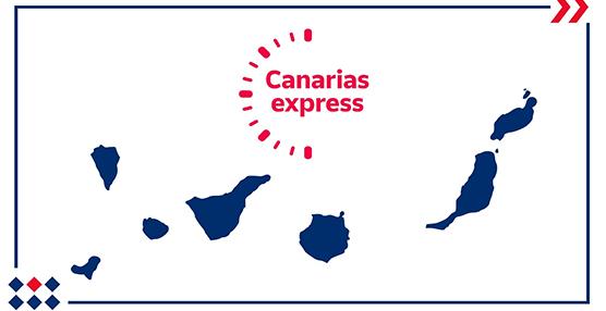 Correos Express lanza su servicio de paquetería urgente en Islas Canarias
