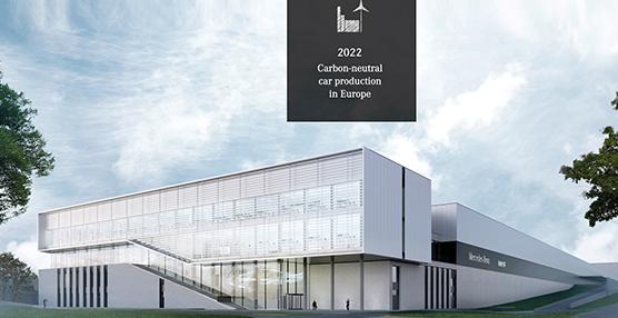 Desde 2022 las fábricas europeas Daimler tendrán una huella neutral de CO2