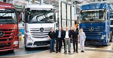 Comienza la producción en serie del Actros de Mercedes-Benz Trucks en Wörth