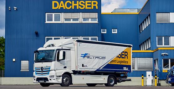 Distribución silenciosa y sin emisiones: Dachser confía en el Mercedes eActros