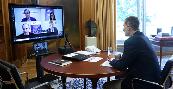 Reunión CEL con Felipe VI para la recuperación