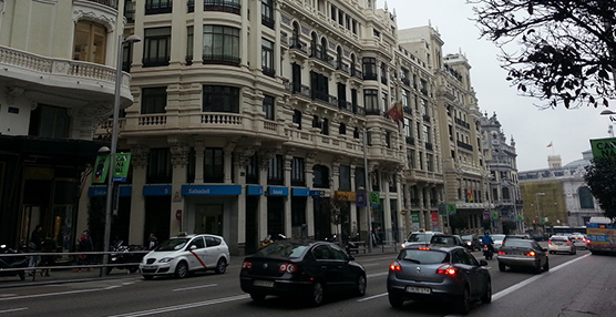Los vehículos sin etiqueta medioambiental podrán entrar a talleres de Madrid Central