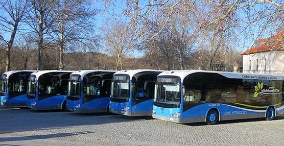 Las comercializaciones de autobuses y autocares crecieron un 10% en enero