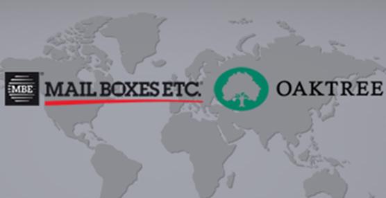 Mail Boxes Etc. anuncia un acuerdo con la empresa de capital riesgo Oaktree