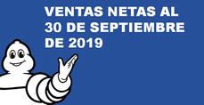 El Grupo Michelin aumenta un 1,3% las ventas en el acumulado de septiembre