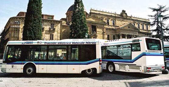 El Ayuntamiento de Salamanca incorpora a su flota cuatro autobuses de gas natural