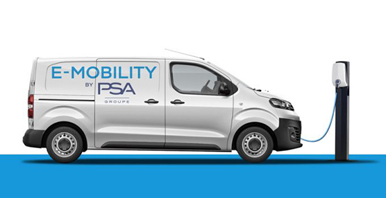 PSA lanzará en 2020 las versiones 100% eléctricas de sus furgonetas compactas
