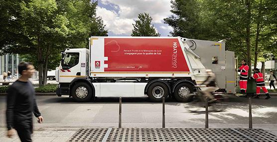 La metrópolis de Lyon cuenta, a partir de ahora, con un Renault Trucks D Wide Z.E