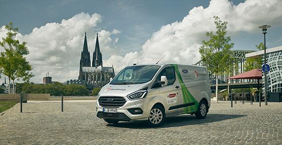 Ford amplía las pruebas de su vehículo Transit Custom Hybrid a Colonia