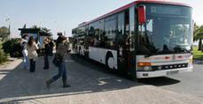 El número de usuarios del transporte público aumenta un 4,2% en septiembre