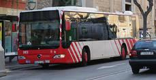 El número de usuarios del transporte público disminuye un 1,4% en abril