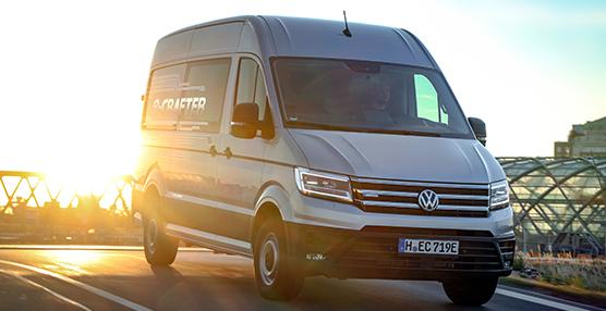 Volkswagen vehículos comerciales lanza en España el nuevo e-Crafter 100% eléctrico