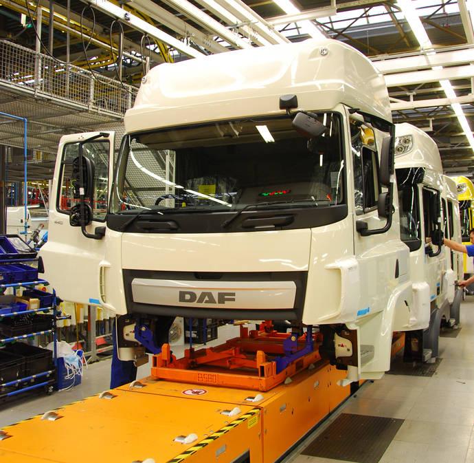 DAF invierte 200 millones euros en planta de cabinas de Westerlo