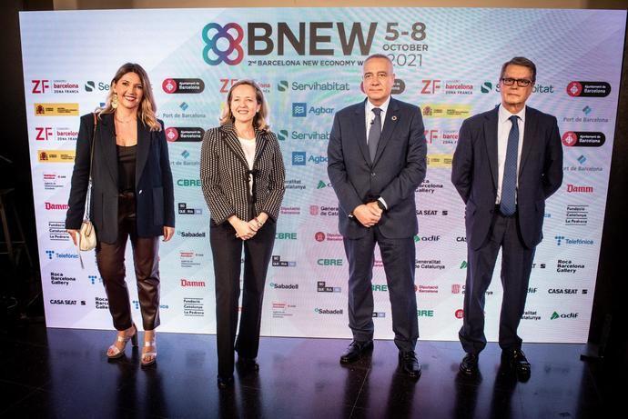 Nadia Calviño destaca en BNEW el papel de las start-ups como recuperación