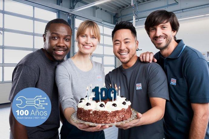 """Campaña de imagen Bosch Car Service: """"Cumplimos 100 años"""""""