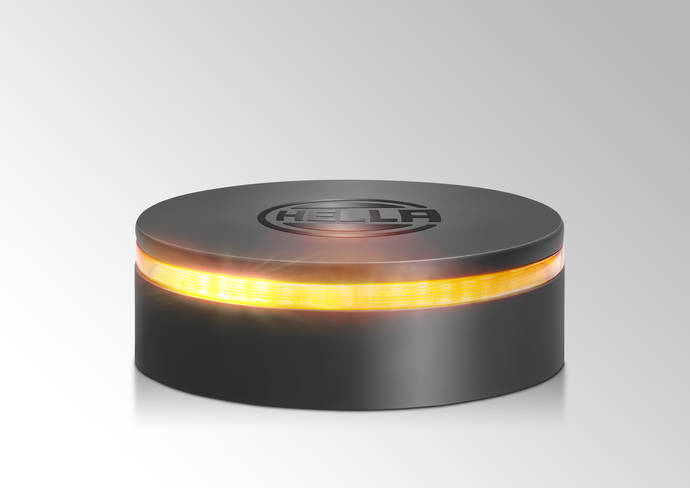 Nuevo rotativo LED de Hella cuenta con un diseño más innovador