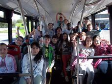 Vitrasa abre sus puertas a los distintos centros escolares de la ciudad gallega