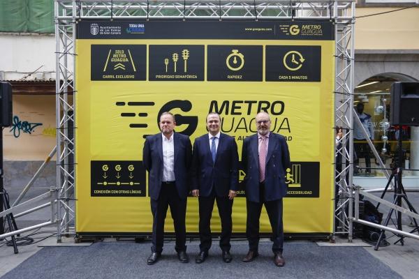 MetroGuagua, nombre para la línea urbana de alta capacidad canaria