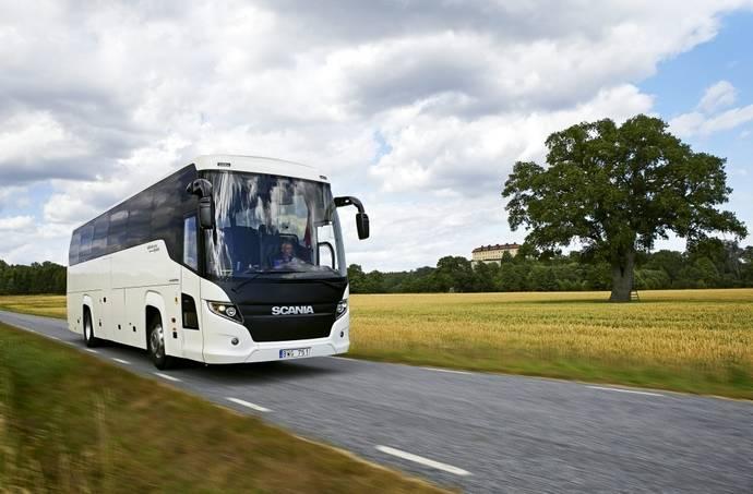 Scania lanza su primer autocar de Gas Natural