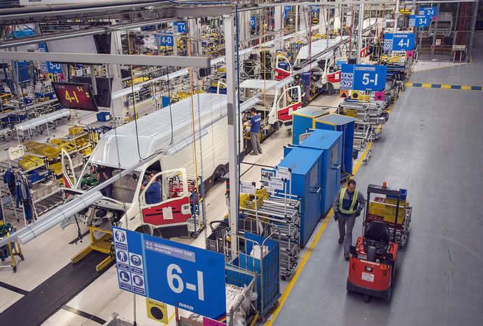 Una fábrica de vehículos situada en territorio español.