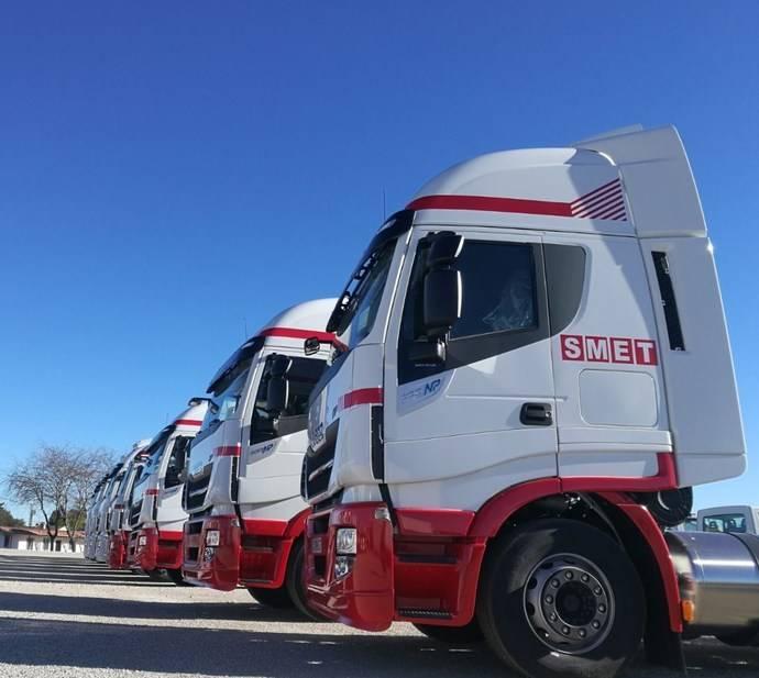 Smet España adquiere 10 Iveco Stralis NP 400 de gas natural