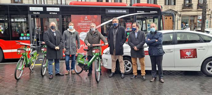Bilbobus lanza su campaña navideña: 'Tu salud, nuestro mejor regalo'