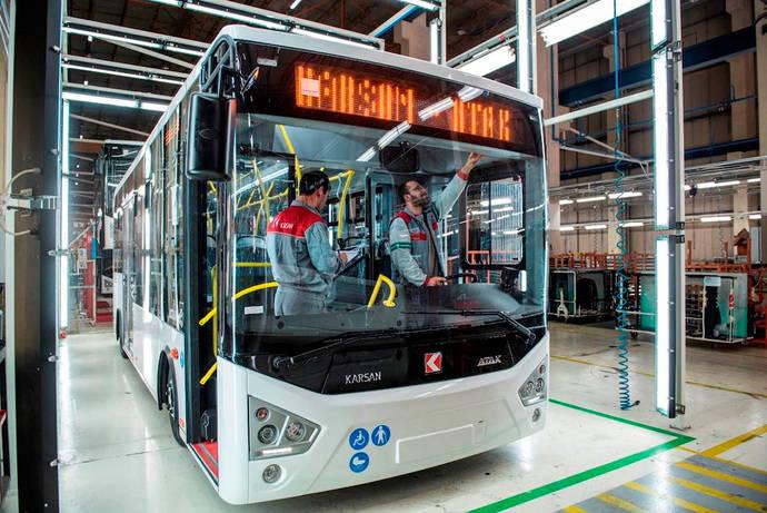 Karsan ayuda a la formación en buses eléctricos
