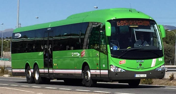 Mil autobuses de Madrid, con la seguridad 'garantizada'