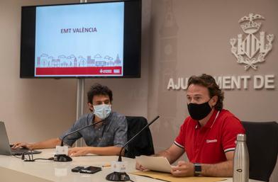 EMT Valencia transporta en verano el 60% de usuarios sobre 2019
