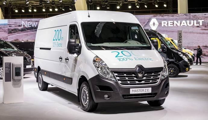 Renault presenta el nuevo gran furgón Master Z.E. 100% eléctrico